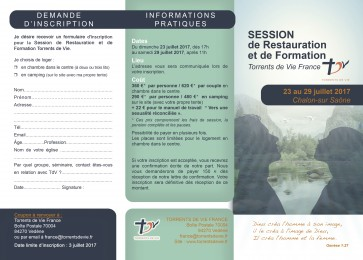 flyer recto session Chalon 2017